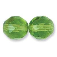 Czech Firepolish Glass Beads