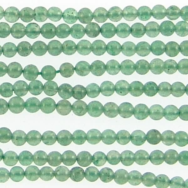 Green Aventurine 14mm Carved Rose Beads 71154